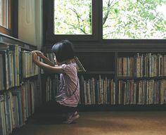 childhood memories, library books, kitchen windows, children, reading books, sweet girls, public libraries, asian babies, kid