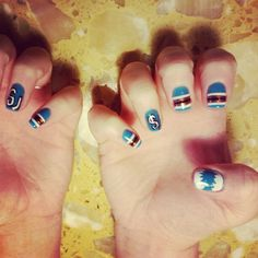 Shark nails-San Jose fan