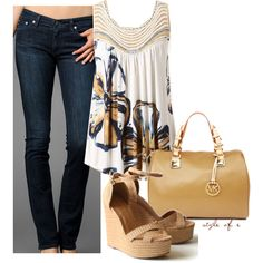 jean, fashion, cloth, casual styles, outfit, graphic tees, polyvore, tank, graphic top
