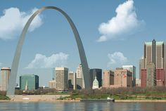 St Louis Arch eero saarinen, st louis, favorit place, arches, gateway arch, homes, families, loui arch, stainless steel