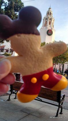 Mickey Cookie and Carthay Circle! #Disneyland