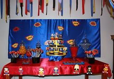 Elegant Affairs: Superhero Birthday Party