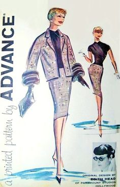 Vogue 2617 (Edith Head) Sewing Pattern