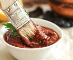 Homemade BBQ Sauce that's both Paleo Friendly and Whole30 compliant. So good, you'll probably never buy the ready made stuff ever again!