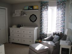 Gray Modern Baby Boy Nursery - #projectnursery