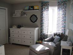 Project Nursery - room from door