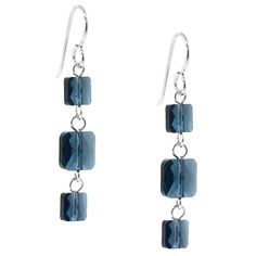 Stacked Up Earrings | Fusion Beads Inspiration Gallery galleries, craft, fusion bead, inspir galleri, jewelri project, bead inspir, beads, earrings, fusion earring