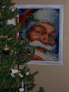Framed Christmas Gift Bag