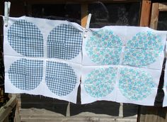 Look!  Gingham!!    Flying Blind On A Rocket Cycle: Blooming Wonderful!