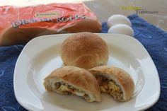 Rhodes Sausage Egg and Cheese Breakfast! So Easy with Rhodes Rolls.
