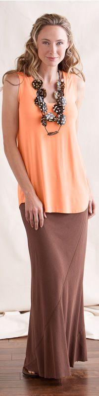 Basic Tank + Maxi Skirt - Outfits - Clothing - Gaiam