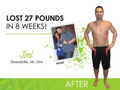 Joel's official Ultimate Makeover Before and After Pic!!    https://bodywrapmomma.myitworks.com/Shop/Product/1002