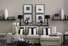 Simplicity with sumptuous textures and luxe finishes