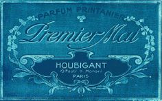 Paris Label Ephemera