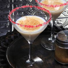 Puerto Rican Rum Punch (Coquito)  (Recipe by Nestle)
