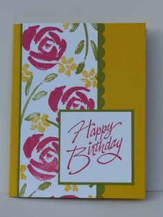 Splitcoaststampers Gallery - Roses in Winter DD - Stampin Up Cards & More