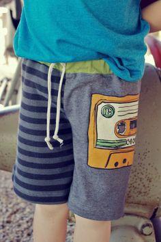 t shirts into boys shorts