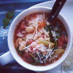 Mom's Homemade Minestrone Soup