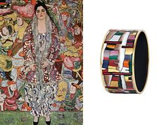 Frey Wille bracelet inspired by Austrian expressionist.