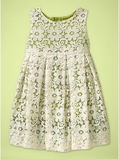 Absolutely in LOVE with this baby girl dress from baby gap... why does it have to be $50? If I knew I was having a girl, it'd be PERFECT for a baptism dress.
