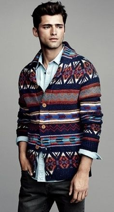 Nice sweater.