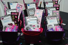 Monster High Party Favors