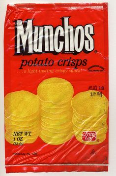 Munchos, my dad loved these.  I think he bought them because my brother and I wouldn't eat them.  LOL
