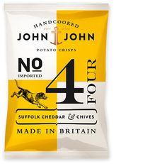 John & John Crisps Packaging