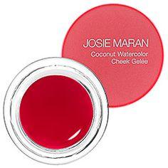 Josie Maran - Coconut Watercolor Cheek Gelée  in Pink Escape #sephora