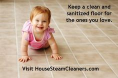 Protect your family with clean and sanitized floors. Get rid of the indoor pollutants that may be living on surfaces in your home.