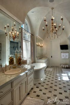 one of the prettiest....bathroom