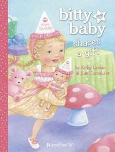 JJ FAVORITE CHARACTERS BITTY BABY. A little girl and her Bitty Baby doll go to a birthday party where the birthday girl is reluctant to share her new gifts.