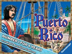Puerto Rico HD app for iPad. Based on the hit board game.  Travel back in time to the days of colonial Spain and become one of Puerto Rico's island governors. Prospect for gold, plant crops, and build up your economy in an epic quest for island domination. Players will have to take on the roles of mayors, settlers, traders, captains, and craftsmen to beat out their opponents.