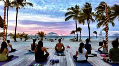 Aruba Yoga Adventures - Yoga Retreats at Manchebo Beach Aruba | The Travel Yogi