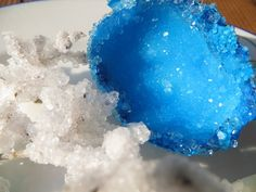 Grow crystals on just about anything!  This blog is FULL of easy experiments with materials from home!