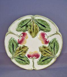 Vintage Majolica plate.
