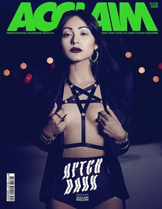 Hopeless Pentagram Harness on the cover of Acclaim Magazine