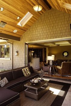 lanai concept with nanawall and covered outdoor patio