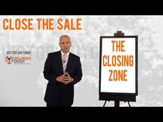 Closing Zone - When to Stop Selling and Close the Sale!  (Sales Motivation)