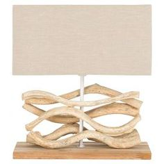 Berkshire Teak Table Lamp