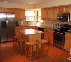 kitchen decor, simplist kitchen