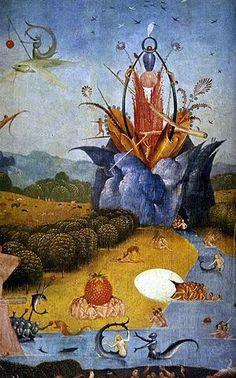 Le Jardin des délices - Jérôme Bosch (détail)