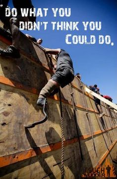 Tough Mudder!  Officially signed up for September 2013 - bring on the training!