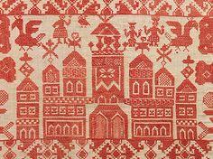 Textile Russian linen 18th century
