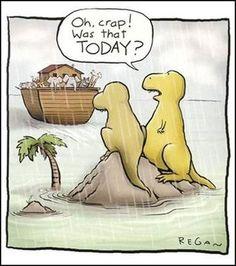 funni stuff, laugh, noah ark, giggl, humor, poor dino, dinosaurs, quot, thing