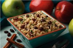 Cinnamon Apple Rice - Applesauce recipes curated by SavingStar Grocery Coupons. Save money on your groceries at SavingStar.com