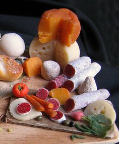 12th scale miniature food