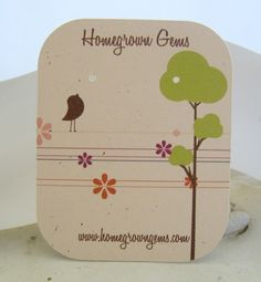 Make my own Earring cards