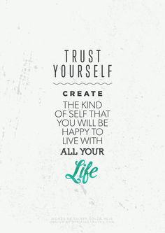 Trust Yourself | Striking Truths