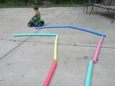Noodle Roads | Teach Preschool  10 ways ro use your noodle